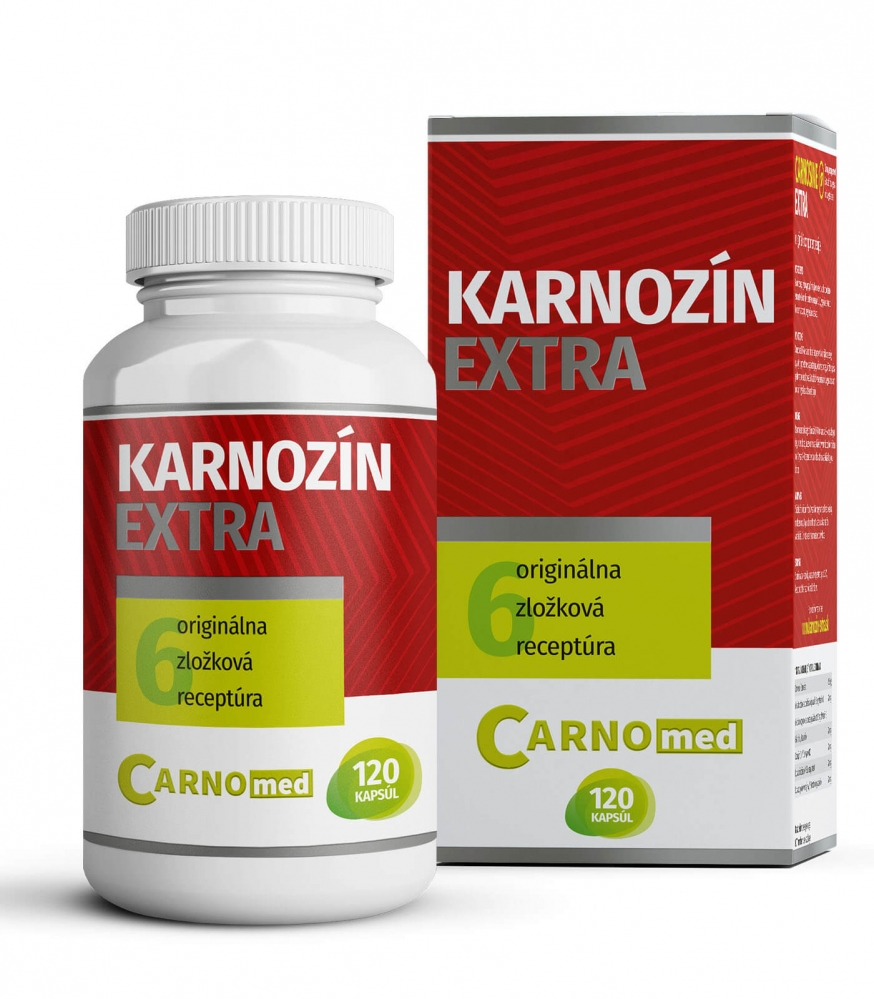 Carnosine EXTRA 120 - Multifunctional protection for cells